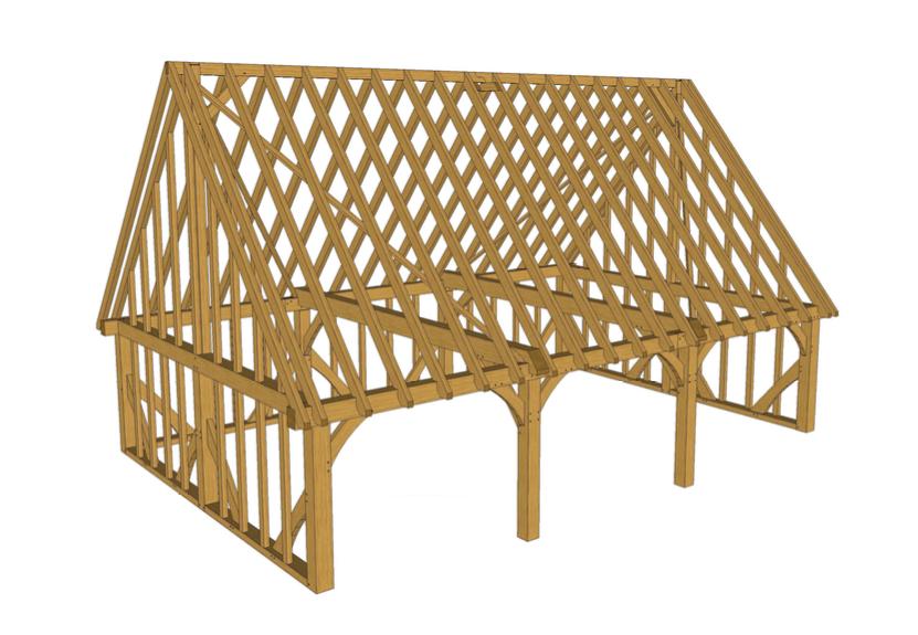 Timber Frames Easton Joinery Ltd